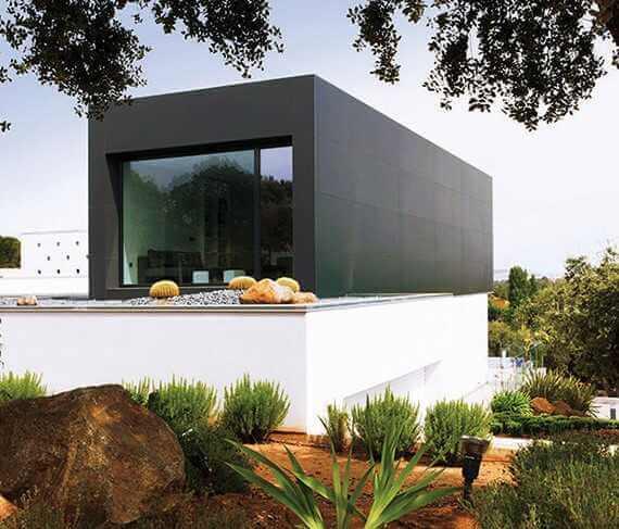 Fachada Edificio Viviendas | Producto Coverlam Top