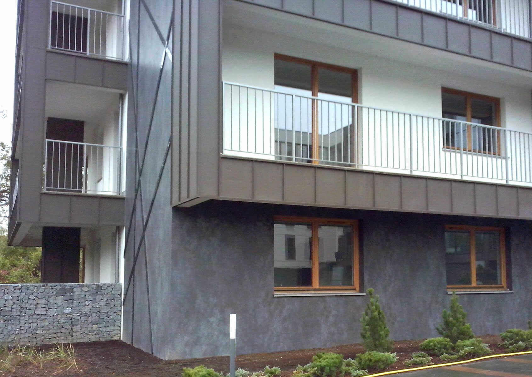 Dise O De Fachadas Con Porcel Nico Coverlam | Edificio Residencial Cracovia