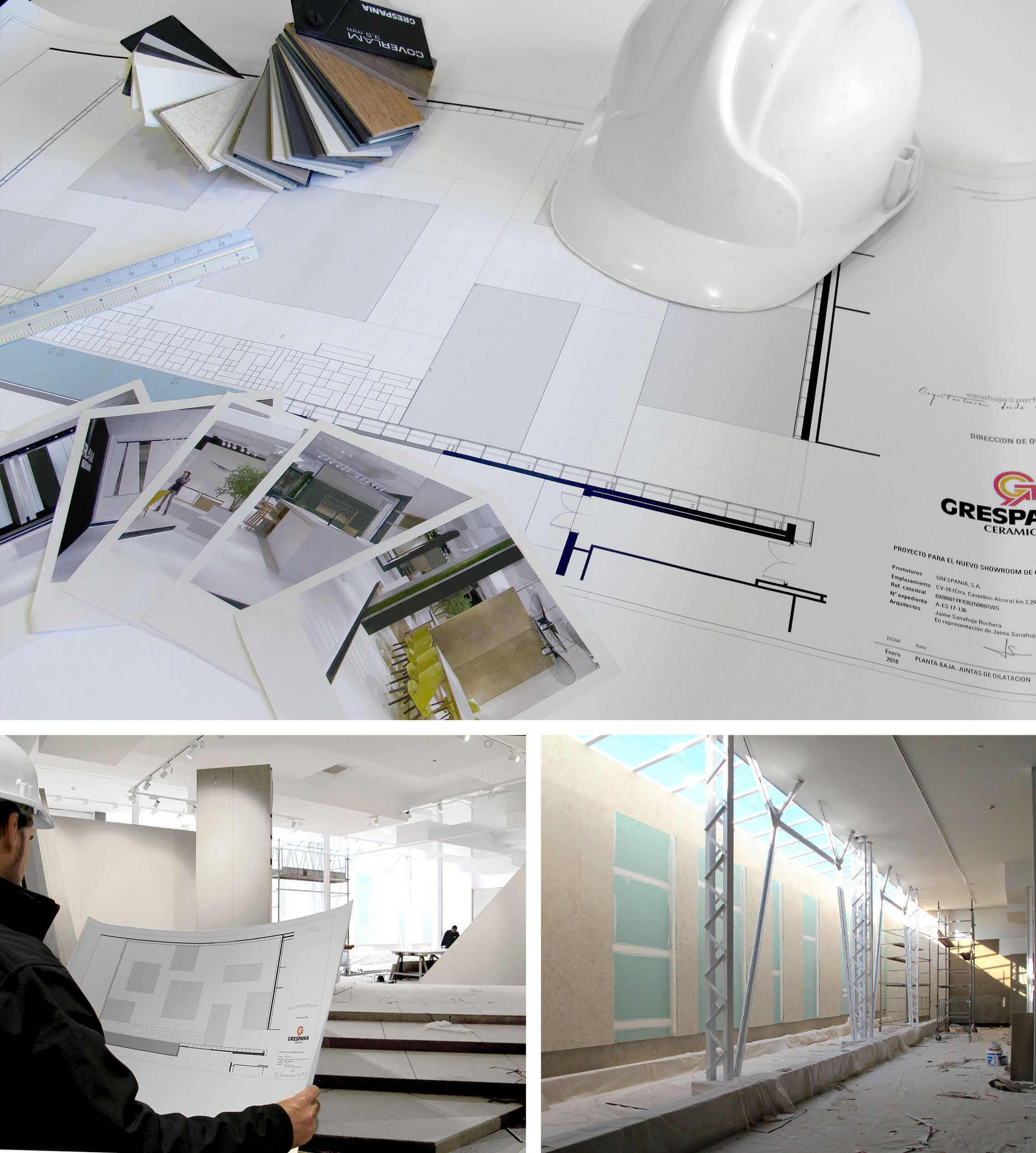 Expo Coverlam 1 Sin Banner | Grespania, Ultimando Su Nuevo Showroom Exclusivo Para Coverlam.